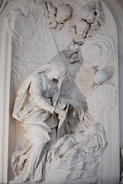 La Vierge. Simon Guillaume.